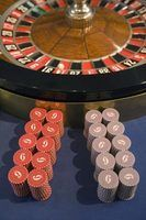 Uma roda de roleta é um exemplo de um girador sofisticado.