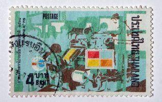 Como encontrar o valor de selos estrangeiros