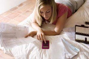 Uma calculadora pode ajudar a calcular a área de um paralelogramo.
