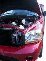 Você pode remover os dentes do seu amortecedor caminhão com uma folha de alumínio mais leve e ar comprimido.