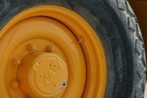 Como corrigir um pneu furado com o fogo