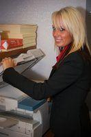 Como corrigir uma fotocopiadora