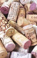 Como corrigir secas rolhas de vinho