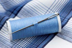 Como corrigir buracos em camisas de algodão