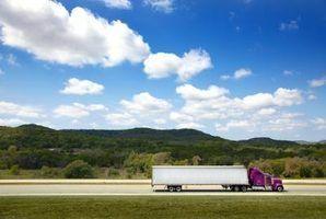 Michigan requer números USDOT para veículos automóveis comerciais intra-estaduais.