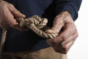 Como chegar a um nó da corda apertada solta