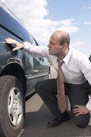 Como chegar abrasões fora de um corpo de carro