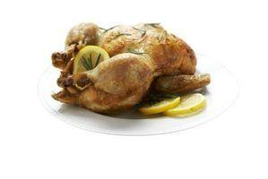 Como chegar frango úmido após o cozimento
