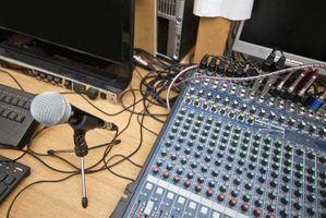 Cliques e pops pode inserir dados de áudio quando é enviada através da Internet.