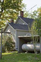 Como ligar uma casa móvel para um sistema de propano doméstico