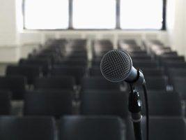 Como executar um auto-ajuste através de um microfone ao vivo