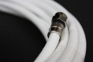 Como melhorar o sinal de tv em um longo prazo de cabo coaxial