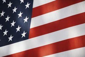 Como manter bandeiras do desvanecimento