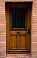 Como manter minha porta exterior de deformação