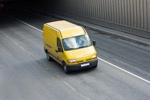 Como alugar uma van de carga