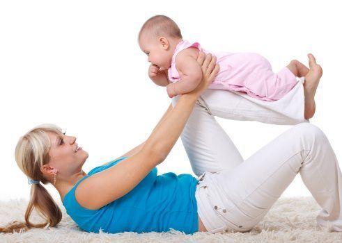Como perder peso do bebê com o exercício