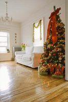 Como fazer uma árvore de natal falso olhar real