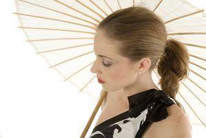 Como fazer um guarda-chuva japonês