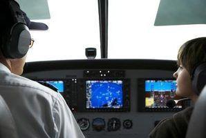 Vestir-se como um piloto para o Dia das Bruxas.