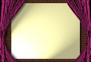 Como fazer uma tela de projeção traseira