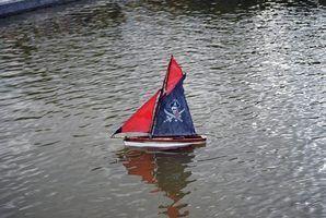 Como fazer um barco de brinquedo que irá realizar um monte de peso