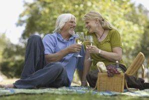 Como fazer uma cesta do vinho e alegria