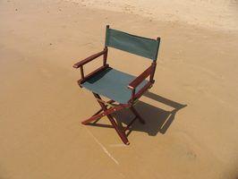 Como fazer uma cadeira dobrável de madeira