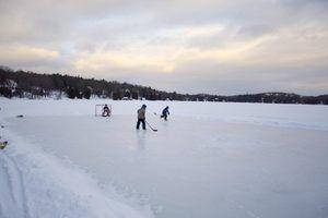 Como fazer grande lagoa de gelo