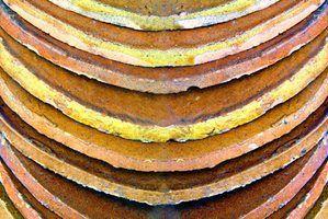 Como fazer com que a argila de terracota