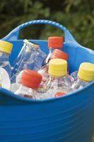 Como fazer aviões garrafa de água