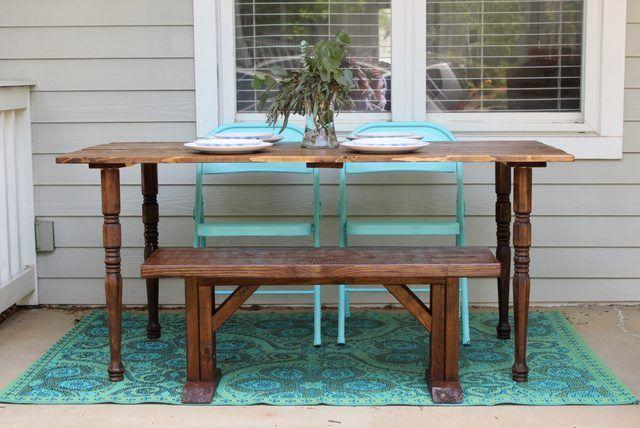 Como fazer sua própria mesa de madeira
