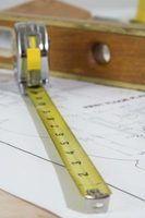 Como medir para a perpendicularidade das paredes