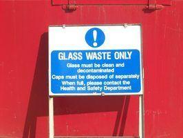 Como derreter vidro reciclado