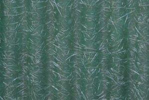 Como pintar sobre fibra de vidro velhos