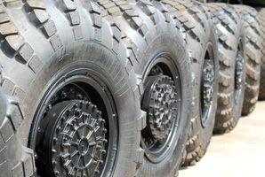 Dê seu caminhão um novo visual pintando as rodas.