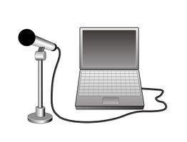 Como gravar palestras sobre um laptop