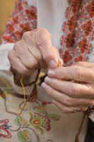 Como remover bordados a partir de sacos