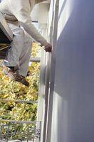 caixilharia de alumínio pode ser pintada de qualquer cor para combinar com a decoração.