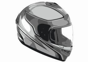 Como reparar uma cinta de queixo capacete da motocicleta