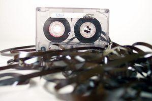 Como reparar uma cassete walkman