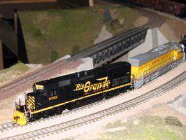 Como reparar um trem de passageiro americano