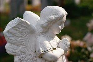 Como reparar estátuas do jardim de cimento