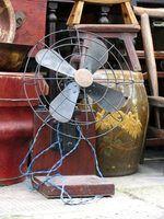 Como restaurar os fãs de antiguidades