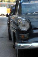Como restaurar pintura automóvel preto desbotado