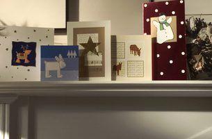 Como enviar um soldado um cartão de natal