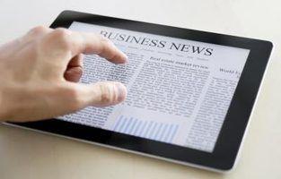 Como definir um artigo de jornal