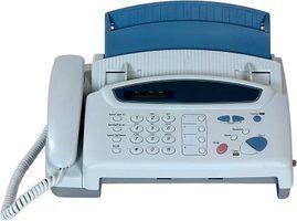 Como configurar um fax quando você tem uma conexão de telefone de linha única