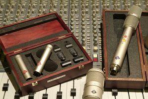 Como configurar um microfone de estúdio