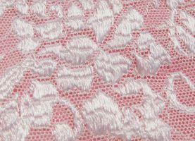 Como costurar tecido de renda