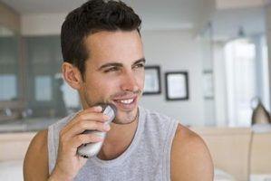 Como acalmar erupção de barbear